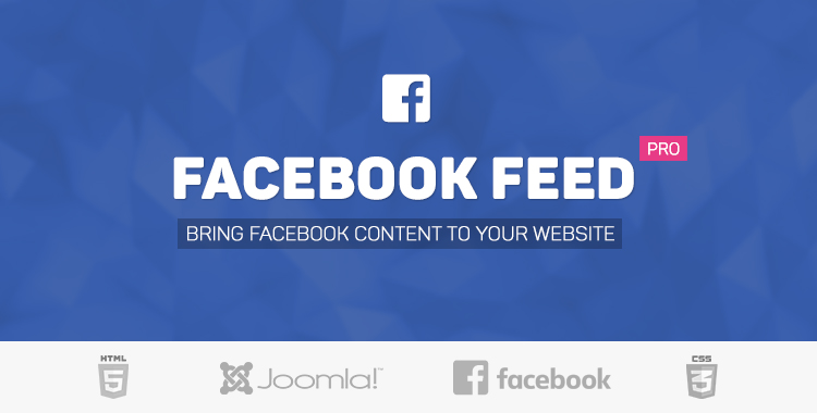 Facebook Feed Pro for Joomla