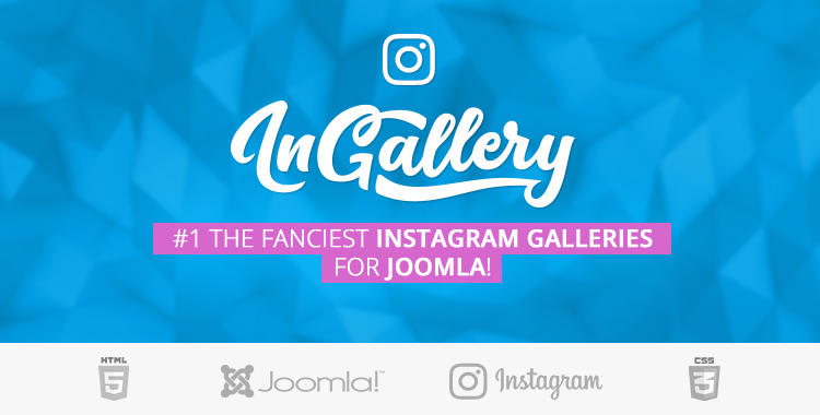 Instagram feed/gallery for Joomla